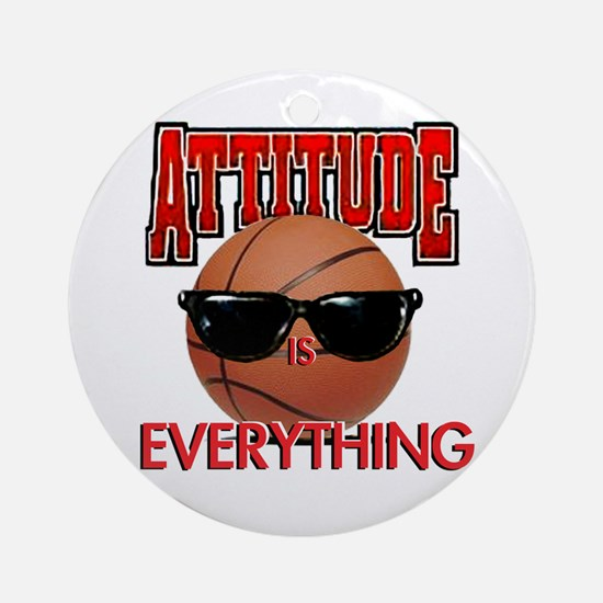 Attitude is Everything Ornament (Round)
