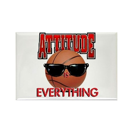 Attitude is Everything Rectangle Magnet