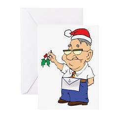 Kiss a Mason Greeting Cards (Pk of 20)