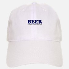 The Beer Cure Baseball Baseball Cap