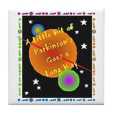 A Little Bit of Parkinson's G Tile Coaster