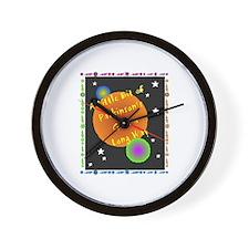 A Little Bit of Parkinson's G Wall Clock
