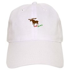 Moose Holidays Baseball Cap