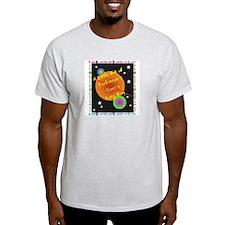 A Little Bit of Parkinson's G Ash Grey T-Shirt