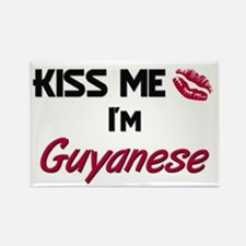 Kiss me I'm Guinea-Bissauan Rectangle Magnet