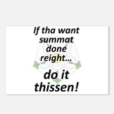 If tha want summat... Postcards (Package of 8)