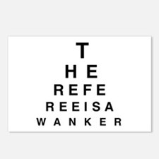 Blind REFEREE Postcards (Package of 8)