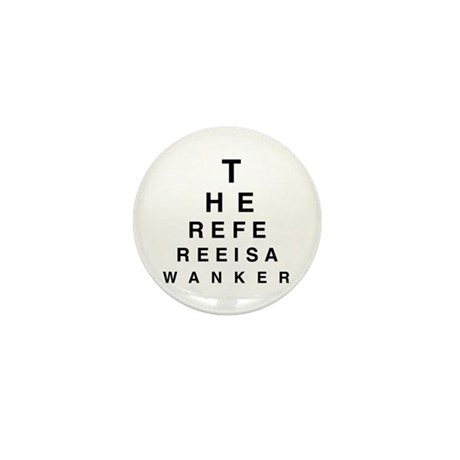 Blind REFEREE Mini Button (100 pack)