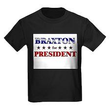 BRAXTON for president T