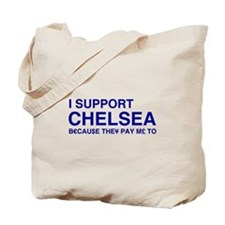 I Support Chelsea Tote Bag