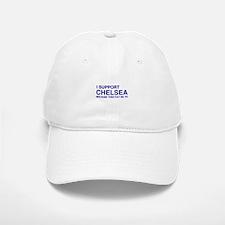 I Support Chelsea Baseball Baseball Cap