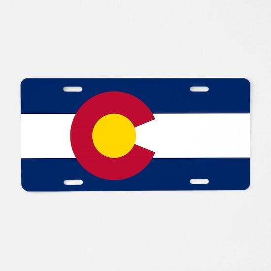 Colorado state flag Plates Aluminum License Plate