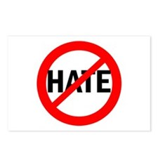 Say NO to Hate Postcards (Package of 8)