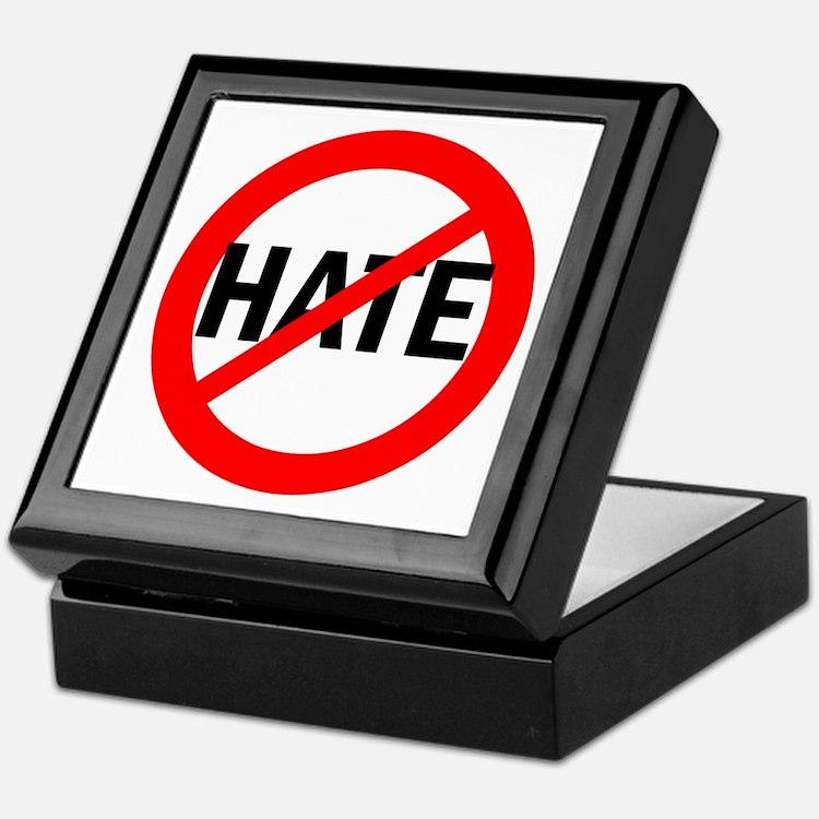 Say NO to Hate Keepsake Box