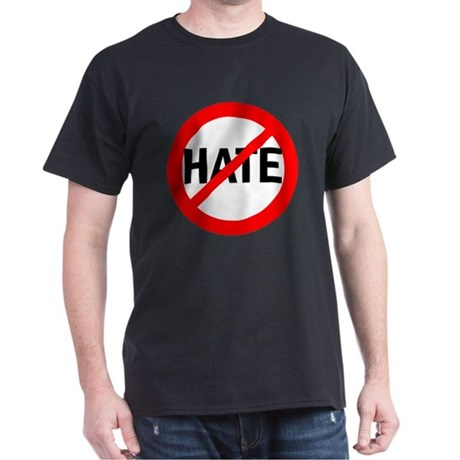 Say NO to Hate Dark T-Shirt