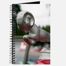 Ram old car hood ornament Journal