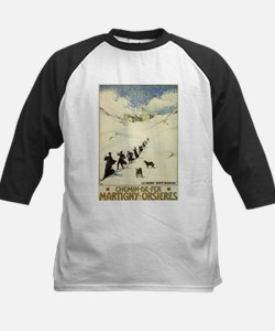 Monks Skiing Great St. Bernard Pass Baseball Jerse