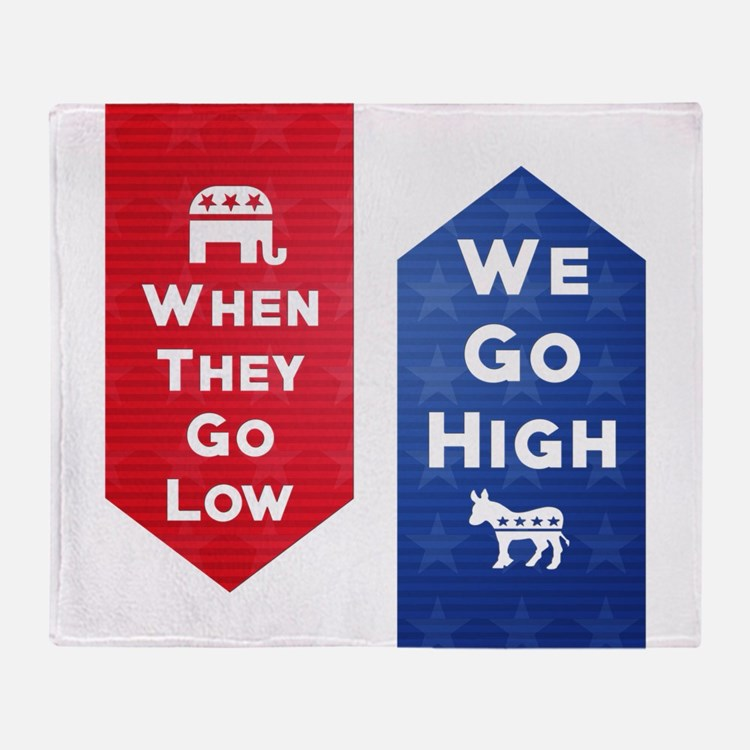 Low-High Throw Blanket
