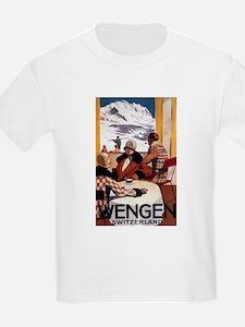 Wengen, Switzerland - Wengen Downhill Club T-Shirt