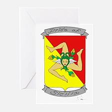 Pride of Sicilia Greeting Cards (Pk of 10)