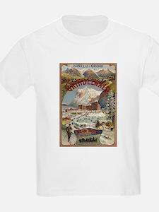 Grindelwald & Bear Hotel - Vintage Travel Poster T