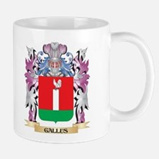 Gallus Coat of Arms (Family Crest) Mugs