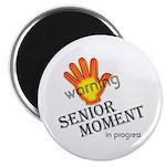 """Senior Moment! 2.25"""" Magnet (10 pack)"""
