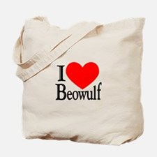 I Love Beowulf Tote Bag