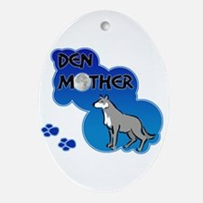Den Mother Oval Ornament