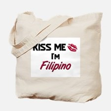 Kiss me I'm Filipino Tote Bag