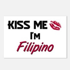 Kiss me I'm Filipino Postcards (Package of 8)