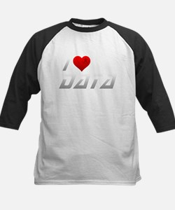 I Heart Data Baseball Jersey