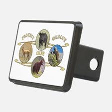 Protect Our Wildlife Hitch Cover