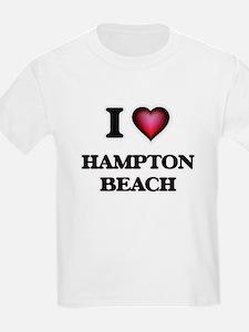 I love Hampton Beach New Hampshire T-Shirt