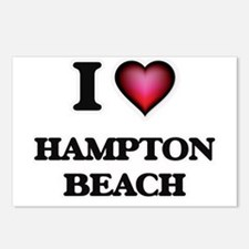 I love Hampton Beach New Postcards (Package of 8)