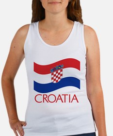Croatia Tank Top