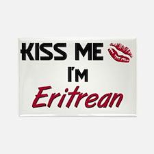 Kiss me I'm Eritrean Rectangle Magnet