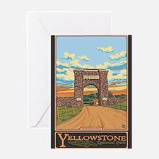 Yellowstone National Park, Wyoming - Park Entrance