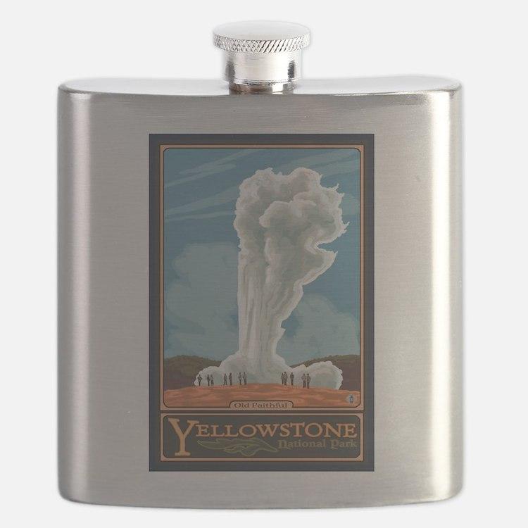 Yellowstone Nat'l Park, WY - Old Faithful Geyser F