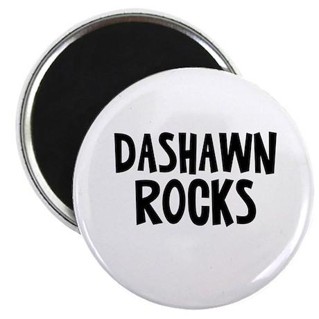 Dashawn Rocks Magnet