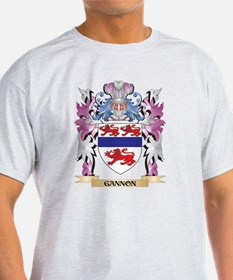 Gannon Coat of Arms (Family Crest) T-Shirt