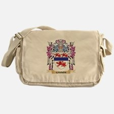 Gannon Coat of Arms (Family Crest) Messenger Bag