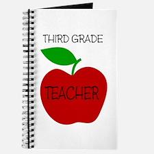 Unique 3rd grade teacher Journal