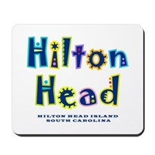 Hilton Head Type - Mousepad
