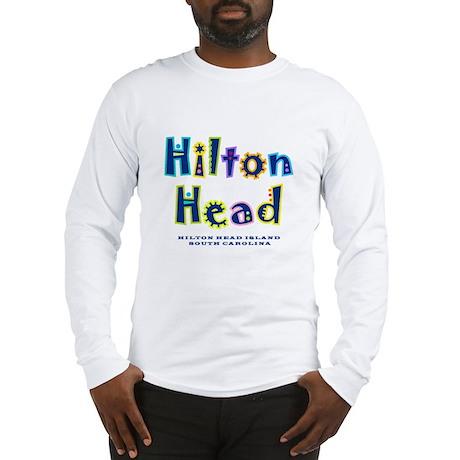 Hilton Head Type - Long Sleeve T-Shirt
