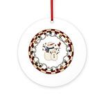 Snowman Friends Ornament (Round)
