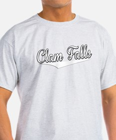 Clam Falls, Retro, T-Shirt
