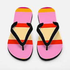 Candy Stripes Flip Flops