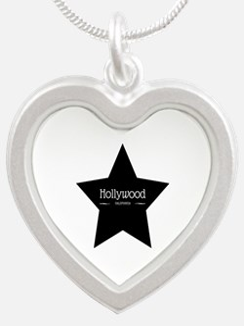 Hollywood California Black Star Necklaces