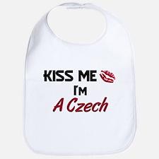 Kiss me I'm A Czech Bib